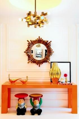 大设计师230平米复式公寓 鲜艳艺术品装饰家