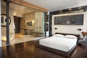 老房卧室床装修效果图39