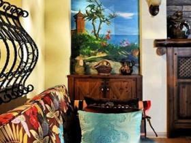 质感原木色 东南亚浪漫160平公寓