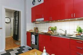 70平公寓厨房装修效果图43