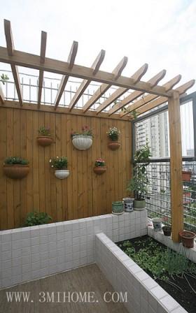 三米设计 简约休闲顶楼公寓