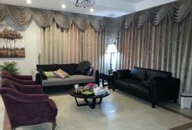 140平复式客厅窗帘装修效果图469