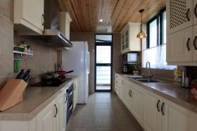 130平三居厨房装修效果图489
