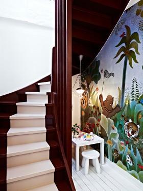 楼梯可爱装修效果图39