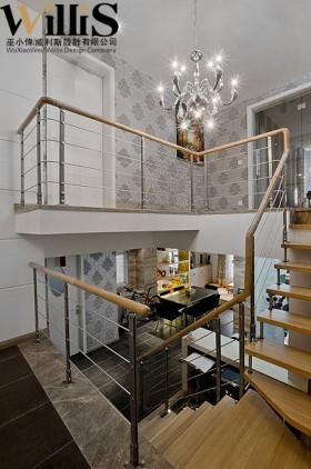 楼梯壁纸装修效果图143