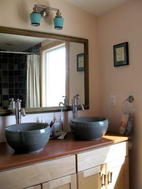 浴室柜装修效果图75