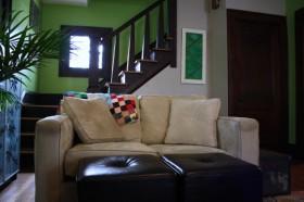 70平田园复式沙发装修效果图816