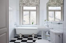 140平复式家居洗手台装修效果图178