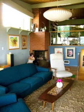 沙发背景墙装修效果图671