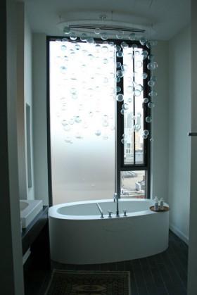 140平公寓卫生间装修效果图193