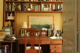 140平家居书房书架装修效果图143