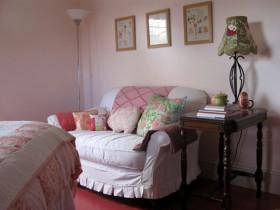 130平复式卧室沙发装修效果图623