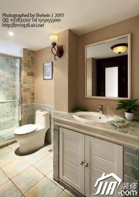 浴室柜装修效果图11