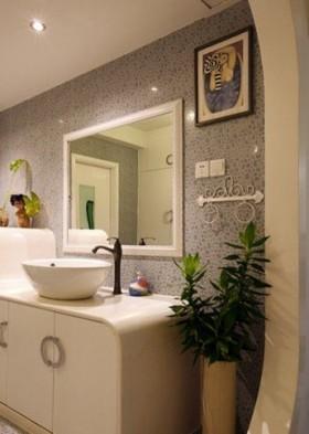 洗手台背景墙装修效果图17