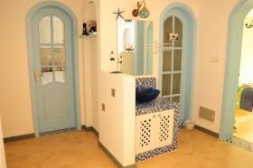 地中海风格洗手台装修效果图