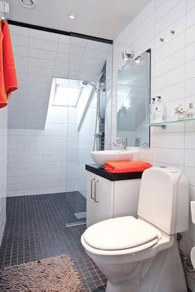 50平一居白色卫生间装修效果图333