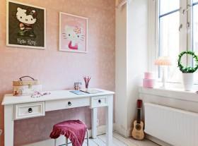 50平一居卧室背景墙装修效果图140