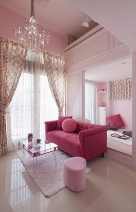 一居室客厅装修效果图146