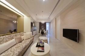 40平一居客厅装修效果图143