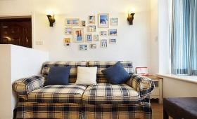 沙发照片墙装修效果图1121