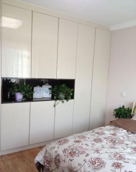 70平二居卧室装修效果图991