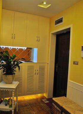 地中海风格80平米#客厅装修效果图96