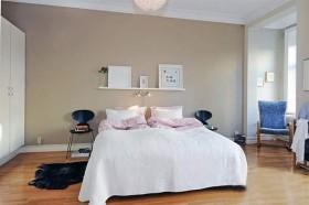 60平二居卧室装修效果图133