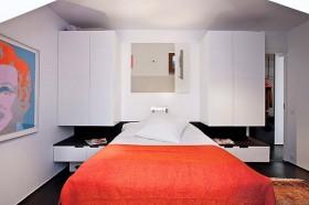 50平北欧二居卧室床装修效果图760