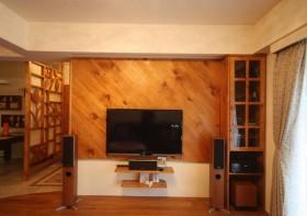 乡村风格电视背景墙装修效果图141