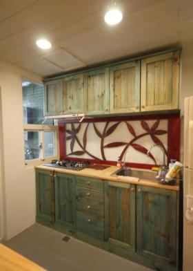 旧房厨房装修效果图453