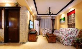 50平米二居室客厅装修效果图