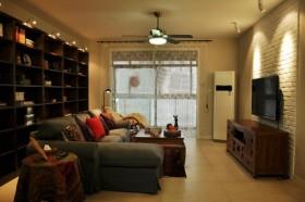 奢华客厅沙发装修效果图1025