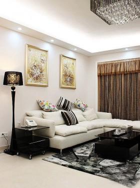 120平混搭二居客厅装修效果图