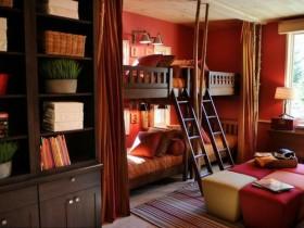 130平二居卧室床装修效果图720
