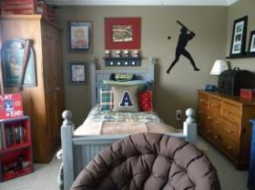 130平二居卧室装饰画装修效果图354