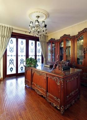 130平二居书房装修效果图245