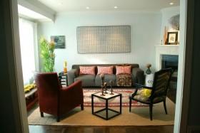 60平二居客厅装修效果图537