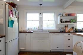 110平二居室厨房装修效果图