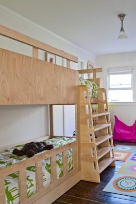 110平混搭儿童房装修效果图