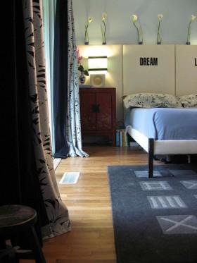 110平二居卧室装修效果图15