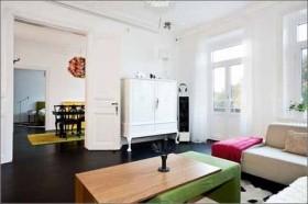 60平欧式客厅装修效果图113