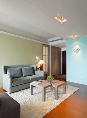 70平二居客厅装修效果图87