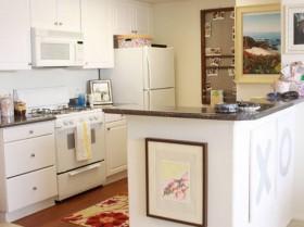 60平白色家居装修效果图3