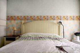 70平二居卧室装修效果图61