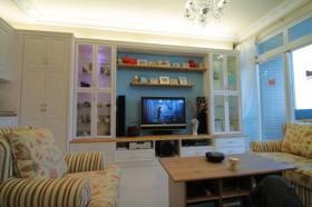 70平二居客厅装修效果图60