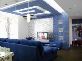 二居室客厅装修效果图38