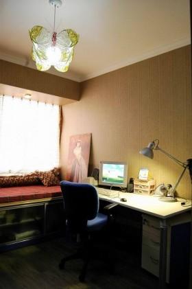 舒适书房书桌装修效果图5