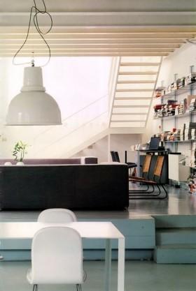 140平二居室装修效果图14