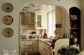 厨房装修效果图499