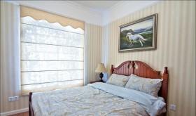 乡村风格卧室背景墙装修效果图182